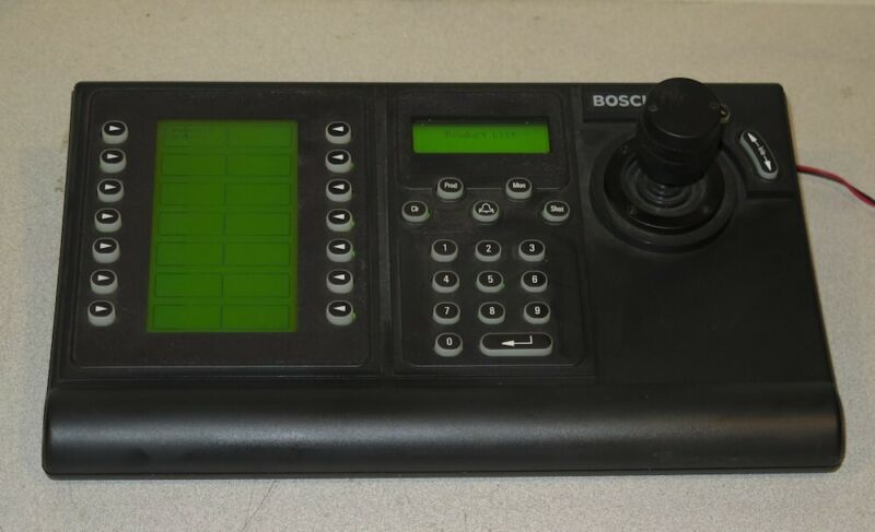 Bosch Philips KBD-DIGITAL IntuiKey Universal Digital Keyboard - CCTV Joystick