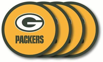 Nfl Duck - Green Bay Packers Coaster 4-Pack Set Duck House NFL