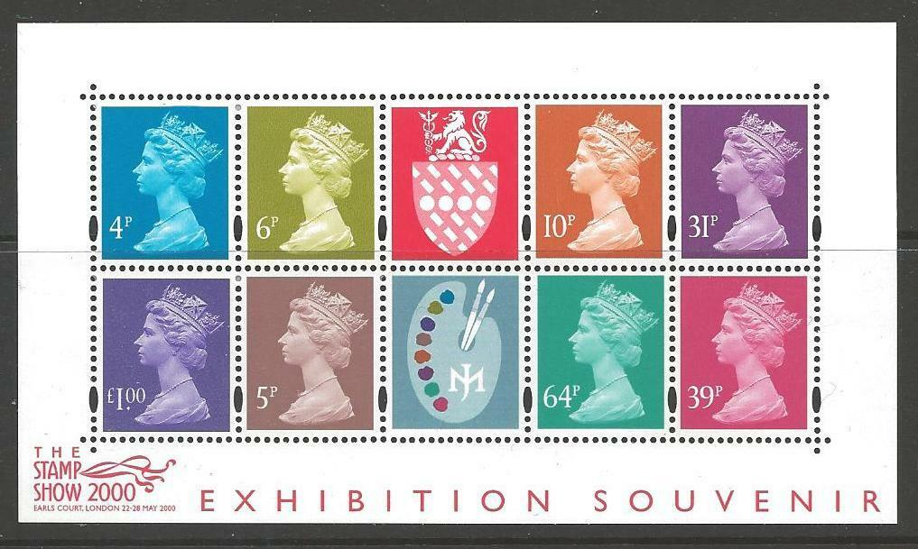 GB SGMS2146 2000 THE STAMP SHOW MNH