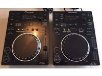 Pioneer CDJ 350 Pair - USB decks with Rekordbox