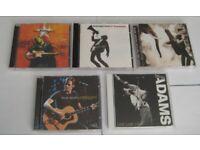 JOB LOT.5 BRYAN ADAMS CD ALBUMS