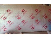 5 x XR4150 Celotex Insulation Boards (2.4 x 1.2) * Bargain Price *