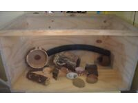 Hamster/guinea pig HANDMADE CAGE + ACCESSORIES