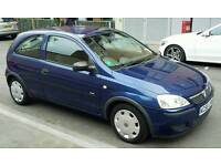 Vauxhall Corsa 1.0 2005 low 30,000 genuine miles blue 3-door 10 months MOT 11 months tax