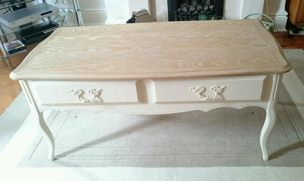 laura ashley provencale coffee table | in crewe, cheshire | gumtree