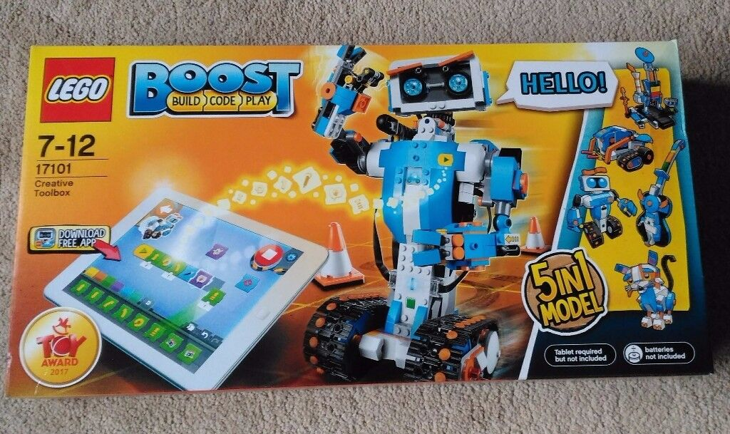 LEGO Boost Creative Toolbox - 17101 - BRAND NEW