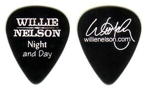 WILLIE NELSON NIGHT AND DAY Guitar Pick