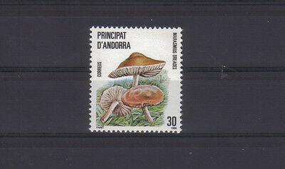 1986 Spanisch Andorra Naturschutz Pilze Mi.Nr 187 postfrisch MNH (15670)