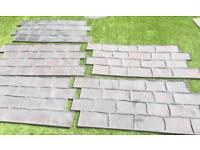 Concrete imprint mats