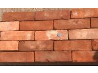 Imperial soft red bricks reclaimed