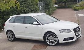 Audi A3 2.0L TDI S LINE WHITE