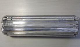 NEW 8 Watt Non-Maintained IP65 Bulkhead Emergency Light x 2