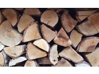 **Kiln dried firewood logs** choice of two premium hardwoods, for delivery or collection
