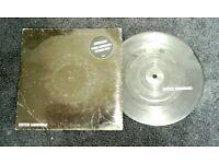 Metallica - Enter Sandman, G, 7 inch single picture disc, released on Vertigo in 1991.