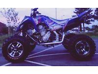 2010 60 Yamaha YFZ Raptor 700R Road Legal Quad