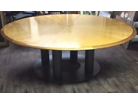 Large Round Board Meeting Table