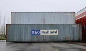 40 ft Standard Shipping Container (Damaged) **NOW AVAILABLE