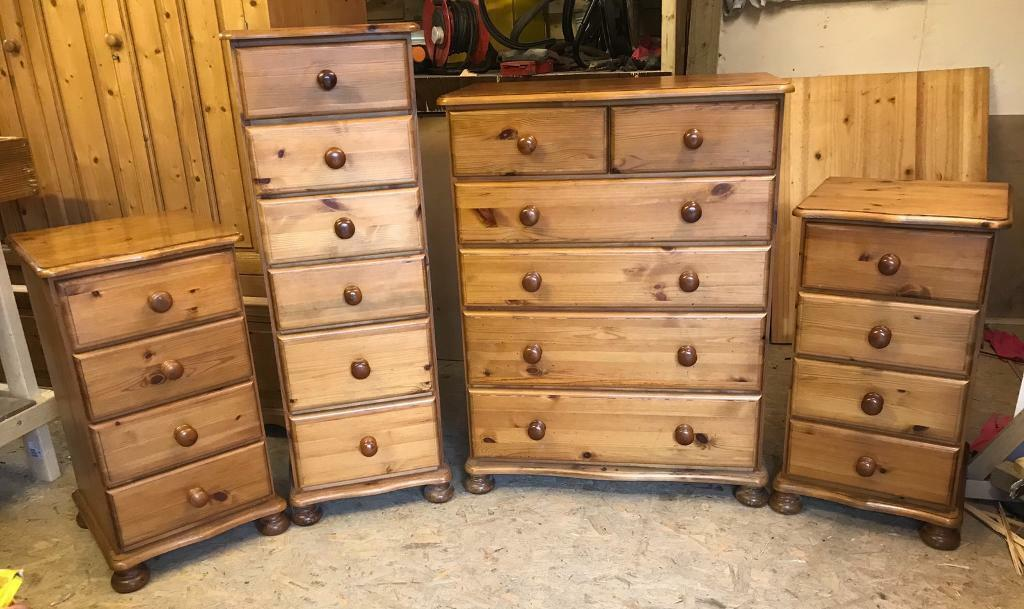 Solid Pine Matching Old Creamery Dovetail Furniture Very Good Quality