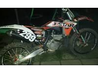 KTM 250 2008 MODEL