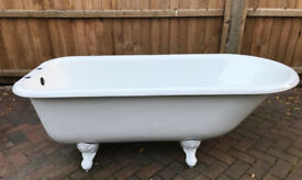 New Cast Iron Roll Top Bath