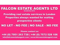 FLATS WANTED IN LONDON