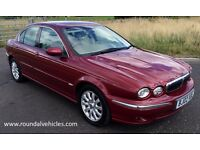 LOW MILES! IMMACULATE Jaguar X Type x-type xtype 3.0 V6 SE 67k, mot may 2017, Continental tyres!