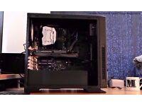 Gaming PC i5-6600k, Z170XP,8GB RAM,120GB SSD, 1TB HDD, Gaming Case