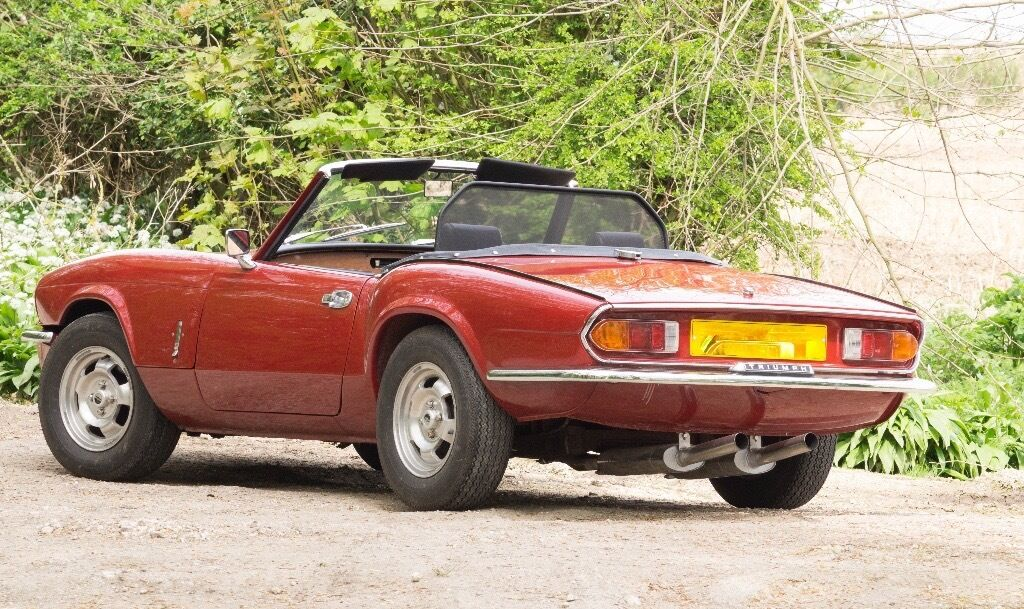 triumph spitfire mk4 1300 in carman red a superb example in hull east yorkshire gumtree. Black Bedroom Furniture Sets. Home Design Ideas