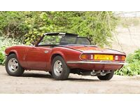 Triumph Spitfire Mk4 1300 in Carman Red, a superb example.