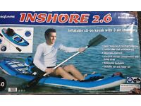 Inflatable Kayak - new and unused.