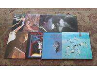 46 Vinyl LP's