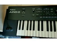 Roland Juno D synth