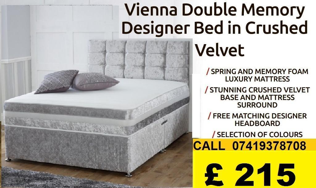 DEVIANA SINGLE DOUBLE KING SIZE MEMORY FOAM DESIGNERBeddingin Woolwich, LondonGumtree - IMPRESSIVES OFFER....EXTREME Quality Furniture like Divan and Leather Base available contact us