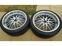 20 inch BMW alloy wheels and tyres