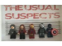 Wanted lego