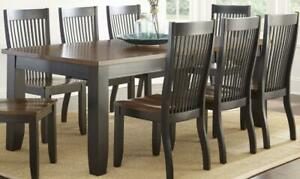 Steve Silver Lawton Dining Table LW500T DINING TABLE ONLY ** TABLE BLOWOUT SALE ** 5 CORNERS FURNITURE **