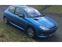 Peugeot 206 1.4 GLX 5dr hatchback