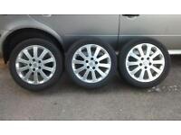 "Three of 16"" Vauxhall Alloys"