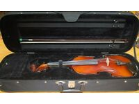 Full size Otto Klier violin with bow