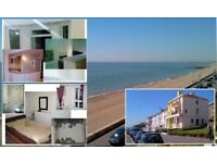 Sangate sea front groundfloor one bedroom unfurnished flat available now