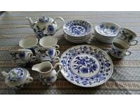 Cesky (Czech) Porcelain tea set
