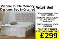 DEVIANA SINGLE DOUBLE KING SIZE MEMORY FOAM DESIGNER / Bedding