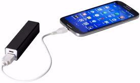Power Bank for Smartphone - Universal BLACK Portable Very handy Emergency