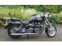 TRIUMPH AMERICA 2010 VERY LOW DRY MILES, BRILLIANT CONDITION WITH SERVICE AND MOT - BARGAIN!