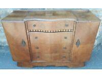 Large Medium Oak Sideboard