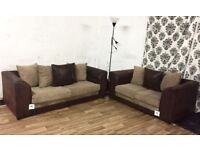 New dylan 3+2 seater sofas**Free delivery**