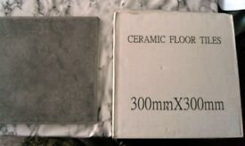 Grey Floor Tiles - 30cmx30cm - 14 in total