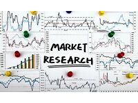 Market Research (via phone/skype) £10 for 30mins - 1 hour