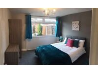 Furnished double room available in Bolton