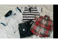 Boys designer bundle Armani & Ralph lauren
